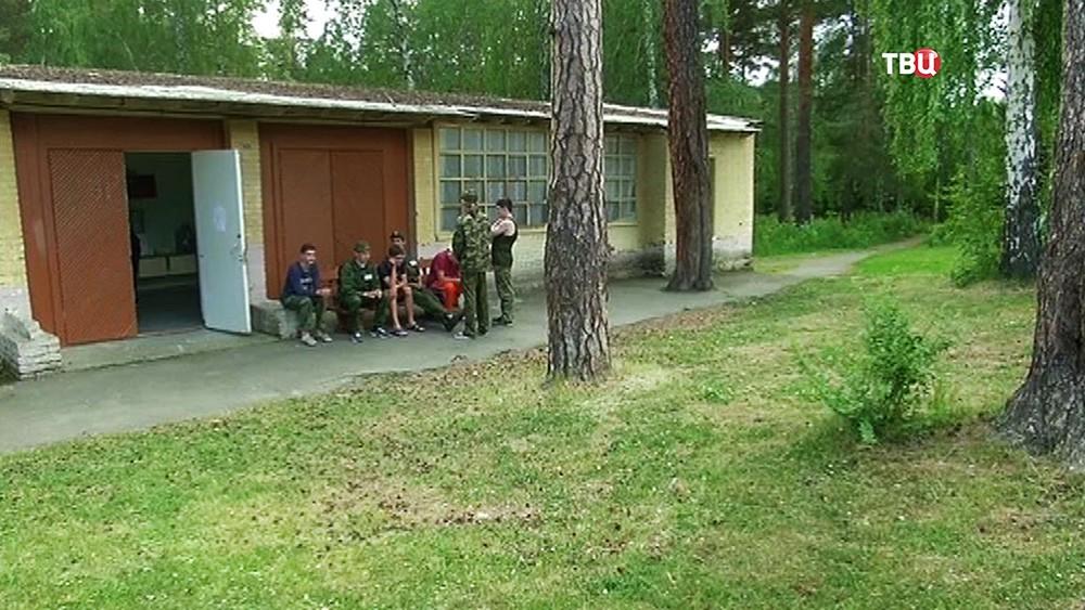 Детский лагерь, где произошла стрельба