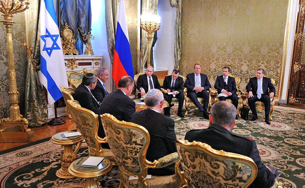 Российско-израилевские переговоры