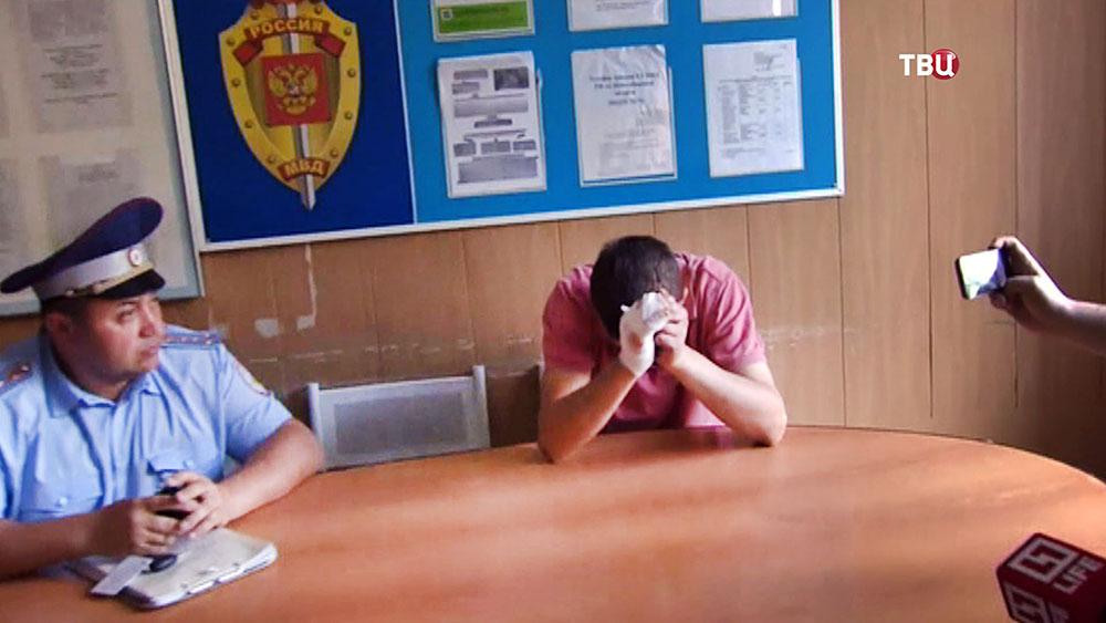 Виновник ДТП в Новосибирске