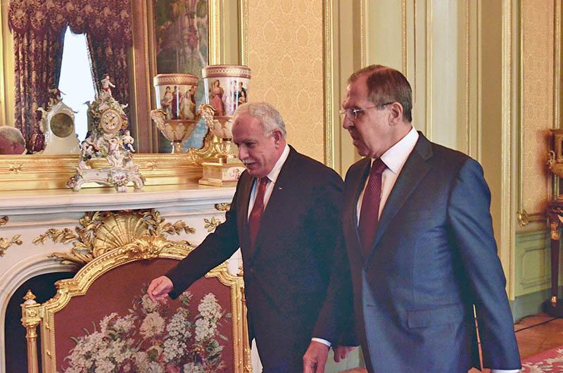 Сергей Лавров на встрече с Раидом аль-Малики