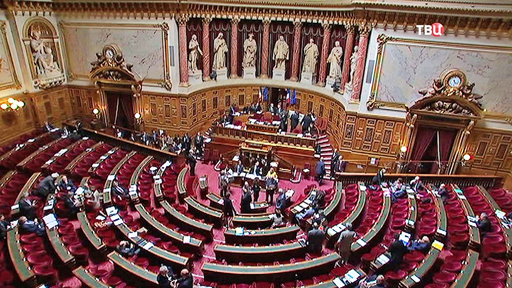 Заседание парламента Франции
