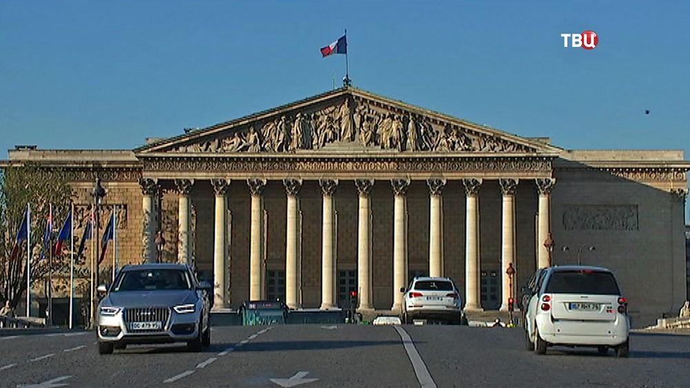 Здание парламента Франции