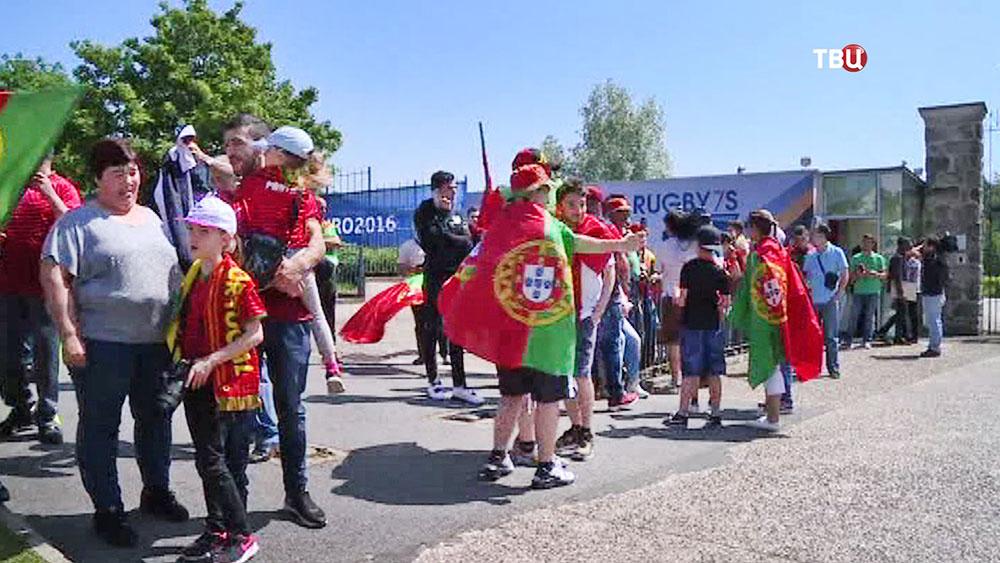 Футбольные болельщики на чемпионате EURO 2016