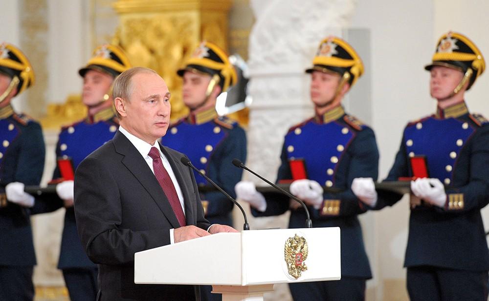 Владимир Путин вручил госпремии