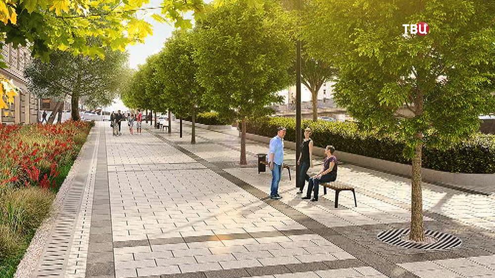Проект реконструкции Садового кольца