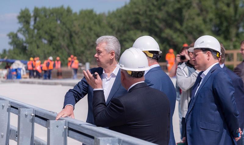 Сергей Собянин проинспектировал строительство