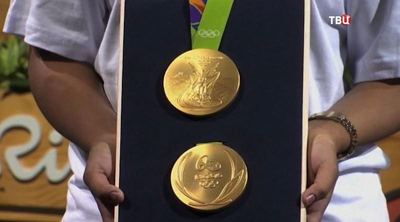 Медали Олимпиады-2016