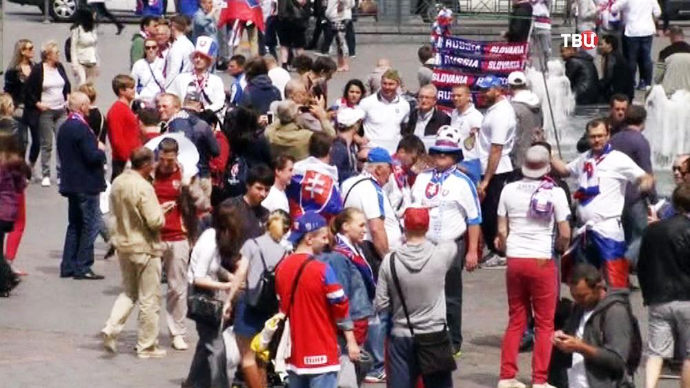Словацкие болельщики