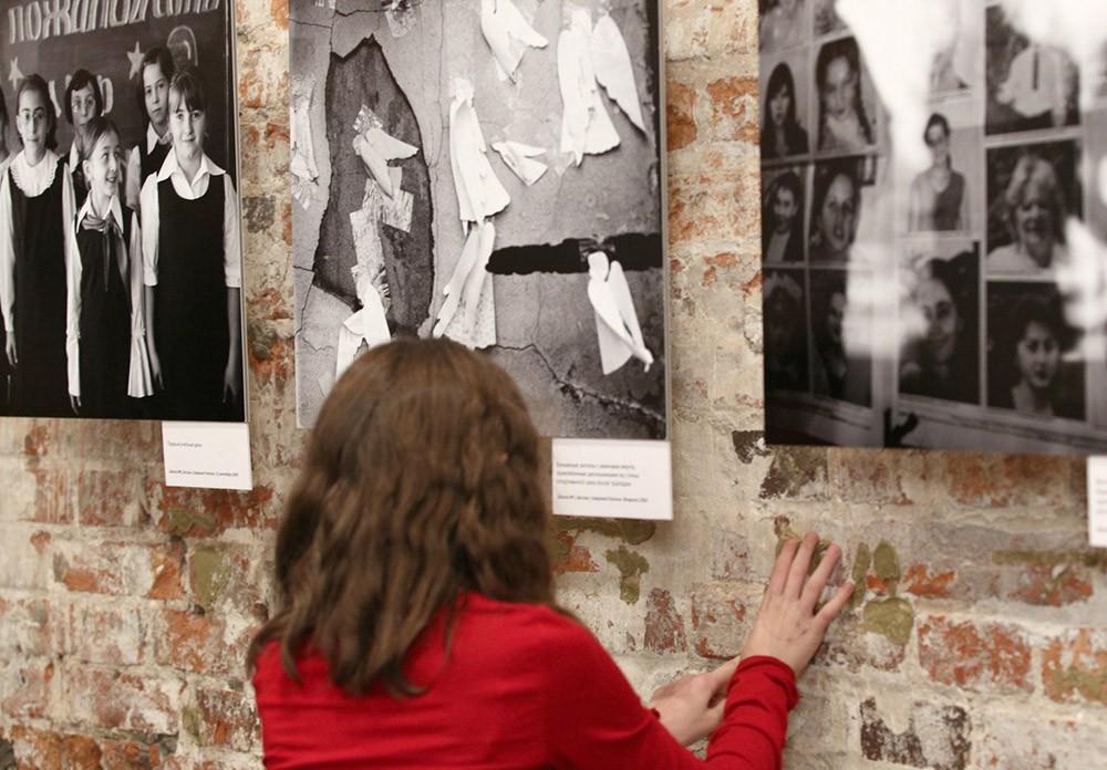 Выставка посвященная трагедии в Беслане