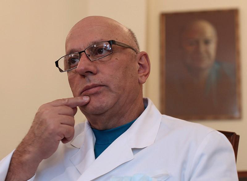 Директор НИИ скорой помощи им. Н.В. Склифосовского Могели(Анзор) Хубутия
