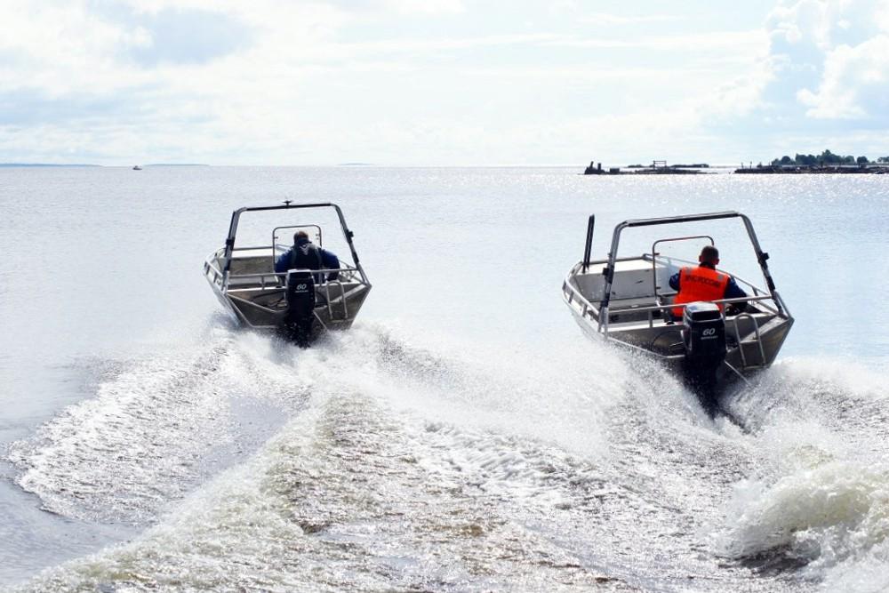Спасательные катера МЧС Россия