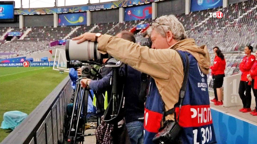 Работа прессы на Евро-2016