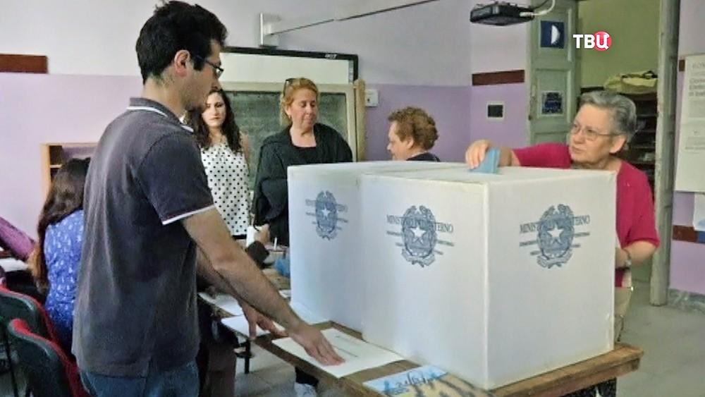 Выборы в Италии