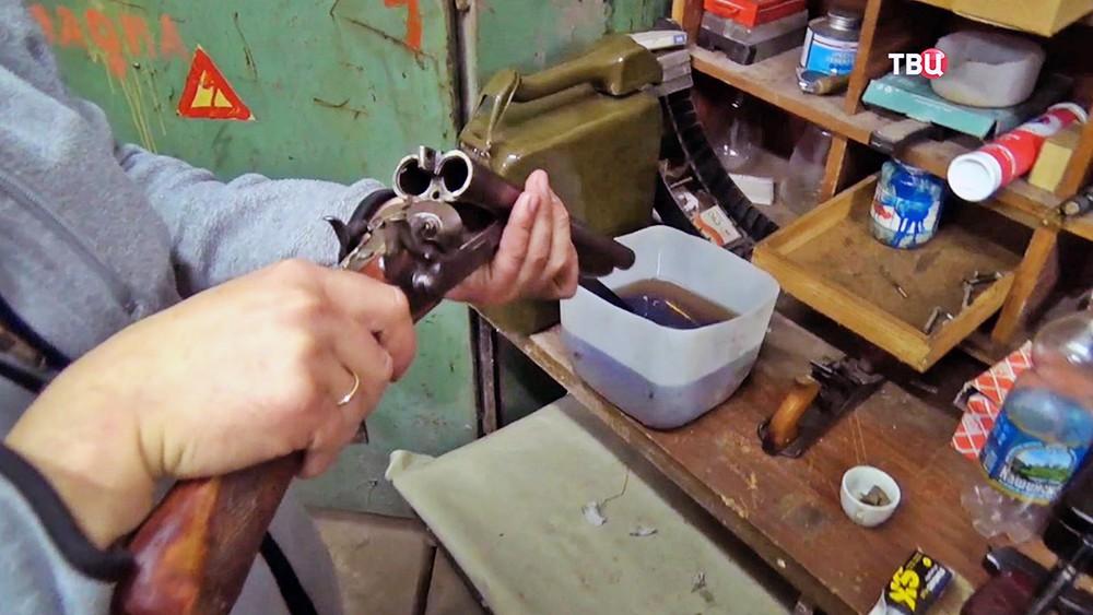 Кустарное производство оружия