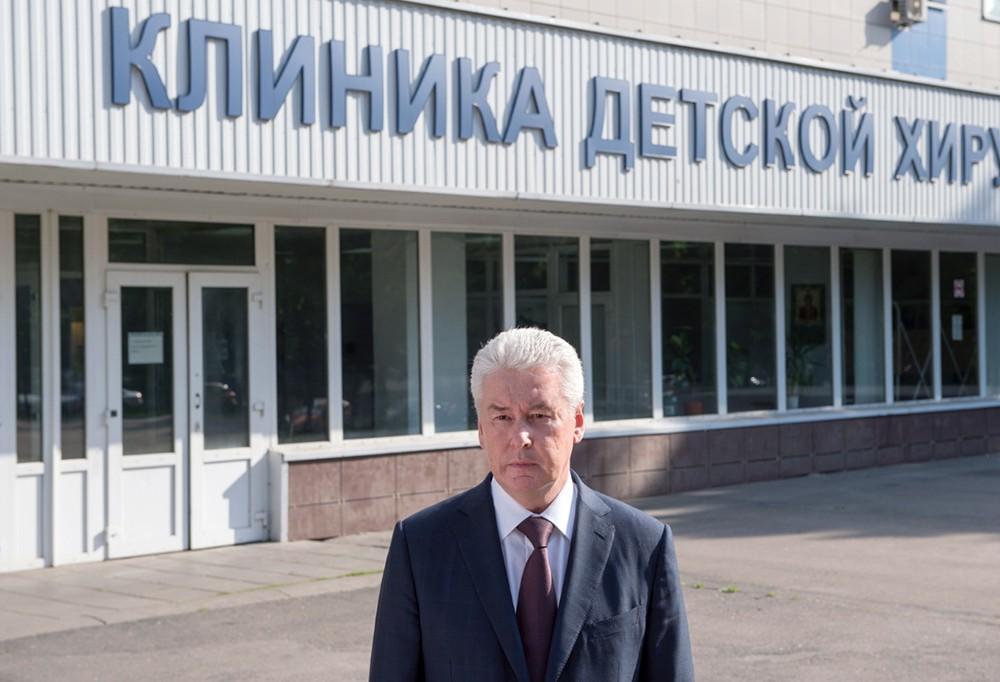 Сергей Собянин посетил городскую клиническую больницу имени Г.Н. Сперанского