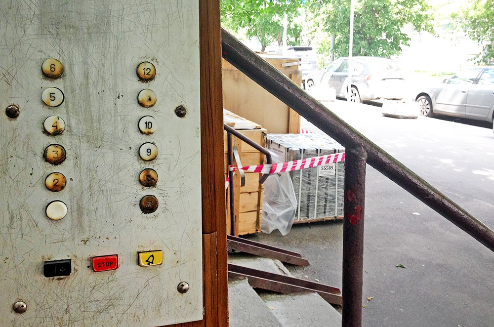 Замена лифта