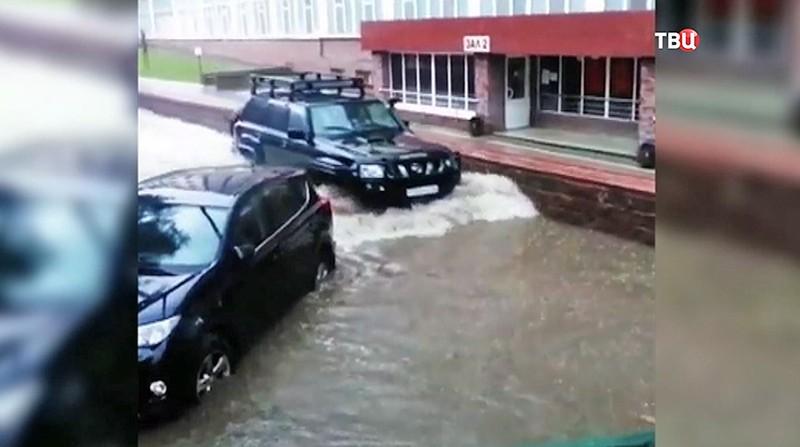 Ливни в Калужской области