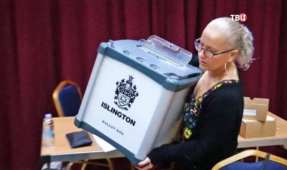 Голосование в Великобритании