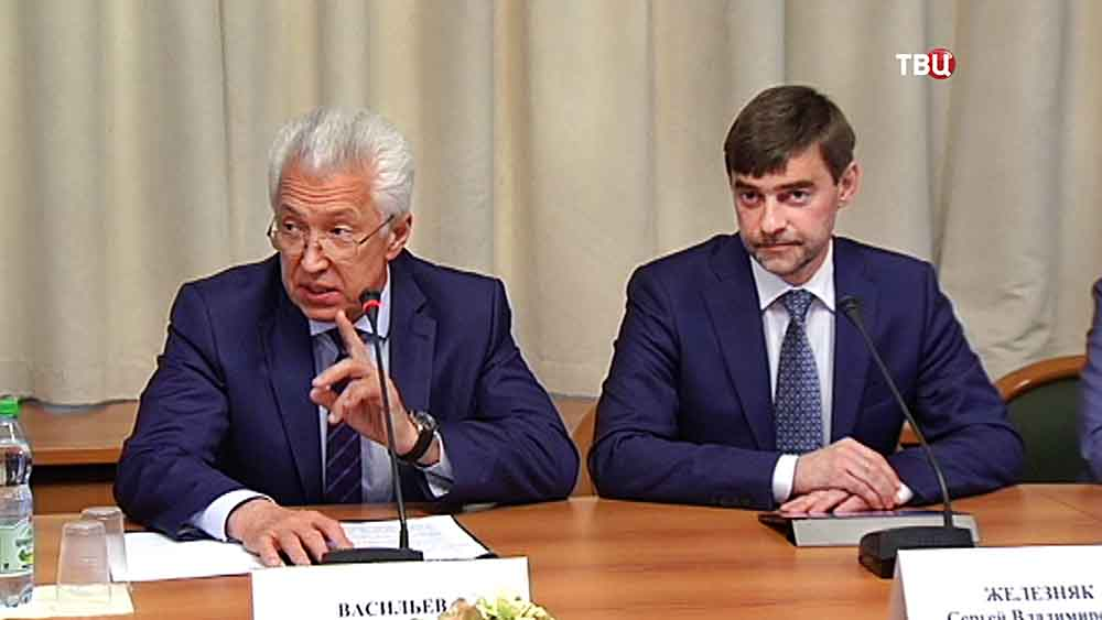 Владимир Васильев и Сергей Железняк