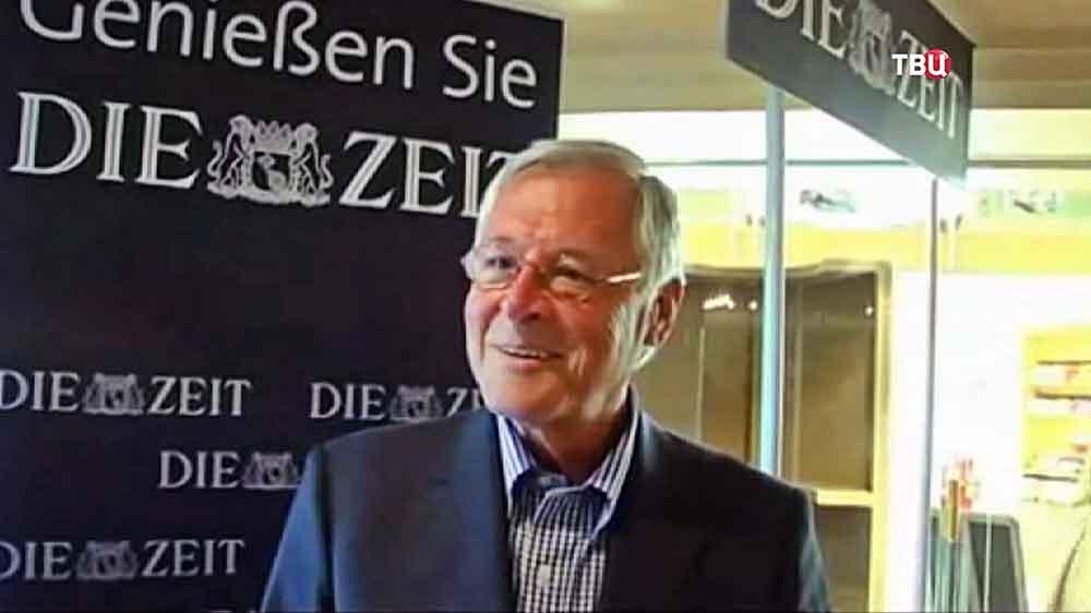 Ведущий немецкого издания Die Zeit Тео Зоммер