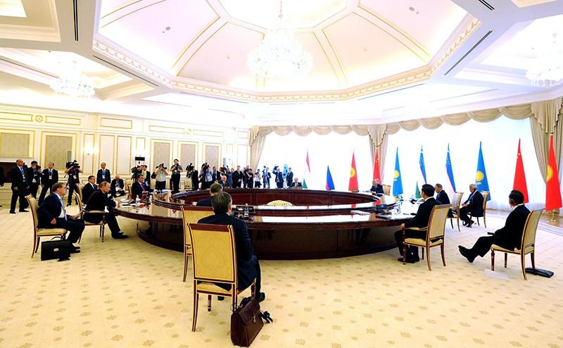 Заседание Совета глав государств – участников Шанхайской организации сотрудничества (ШОС)