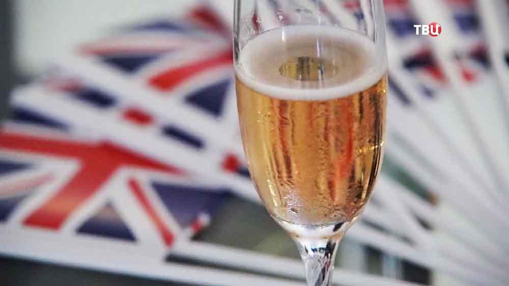 Празднование результатов референдума по отделению Великобритании от Евросоюза