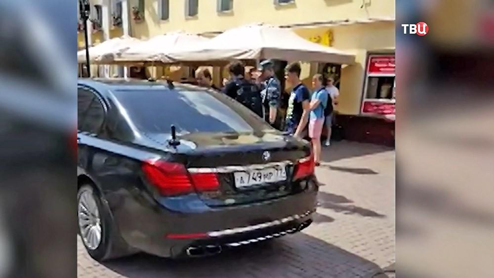 BMW на Старом Арбате