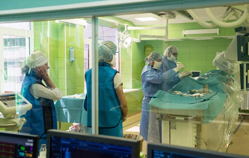 Посещение сосудистого центра городской клинической больницы № 3 в Зеленограде