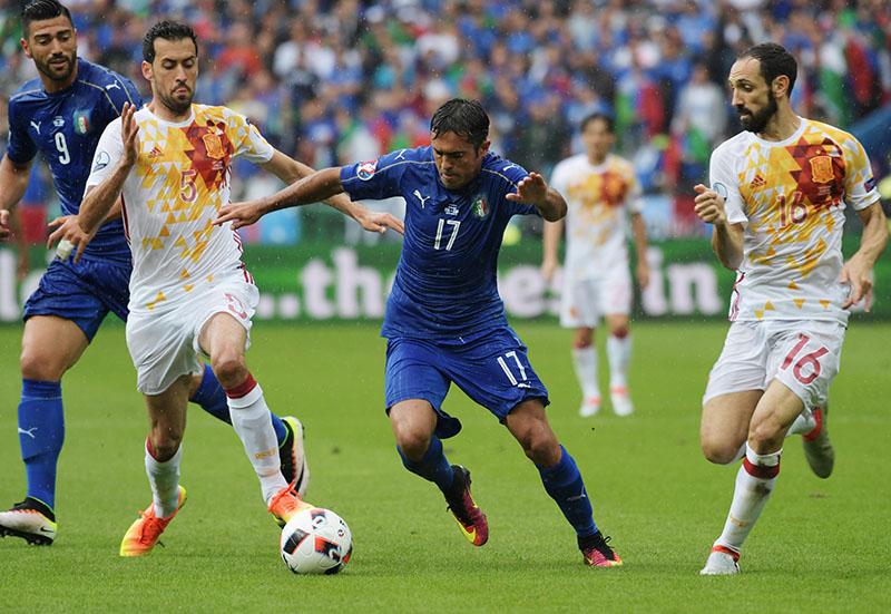 Италия испания чемпионат европы по футболу