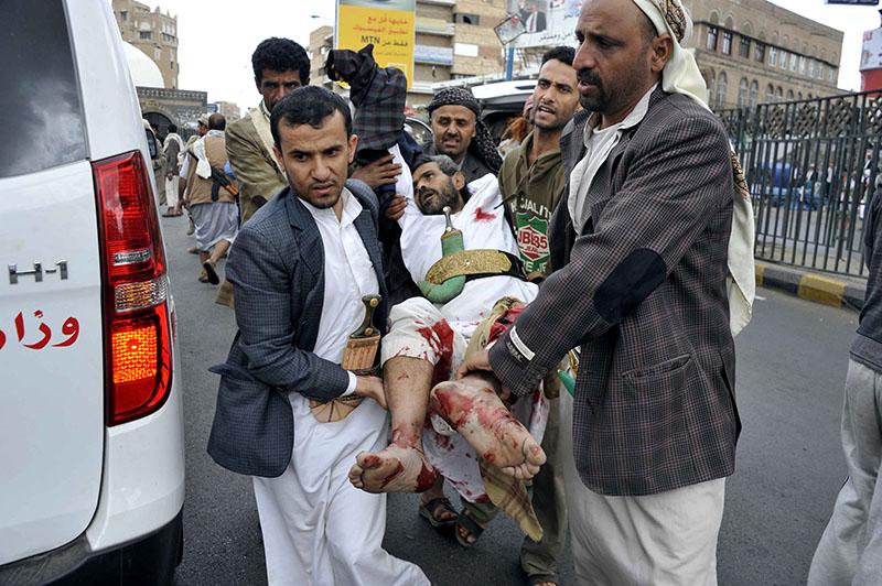 Пострадавший в результате теракта в Йемене