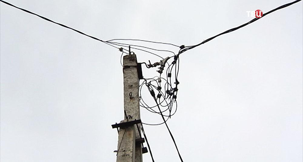 Незаконные подключения к электросети