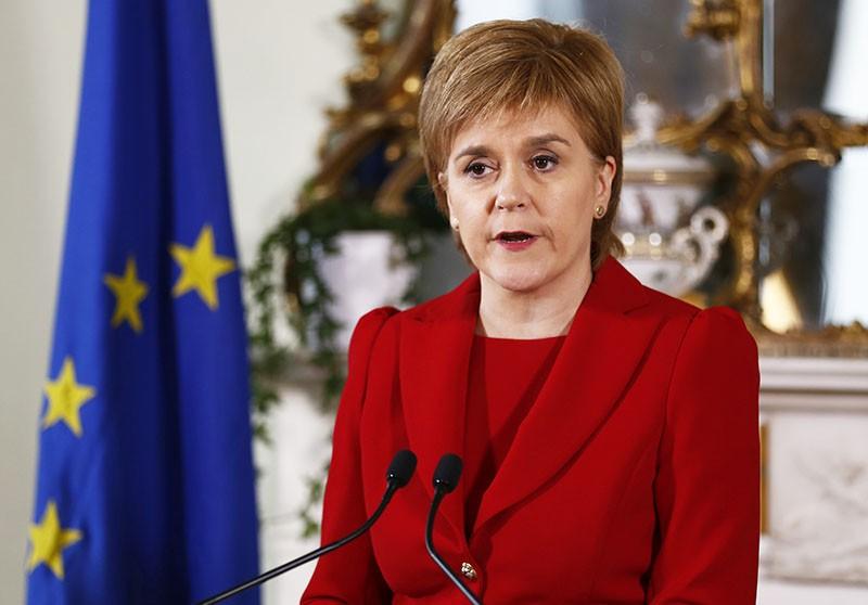 Первый министр Шотландии Никола Старджен