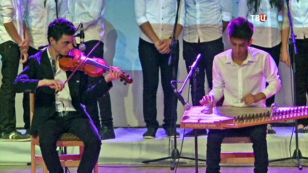 Концерт для жителей Сирии