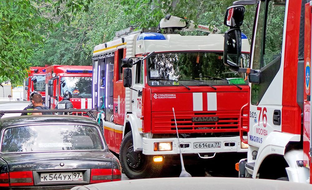 Пожарные машины