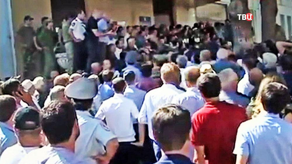 Акция протеста в Абхазии