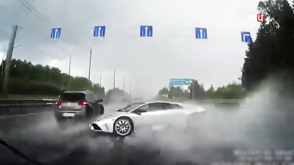 ДТП С участием Lamborghini