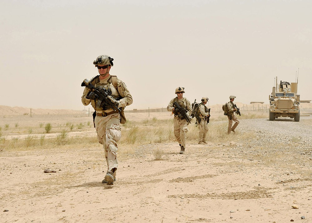 Военные действия сил коалиции в Ираке
