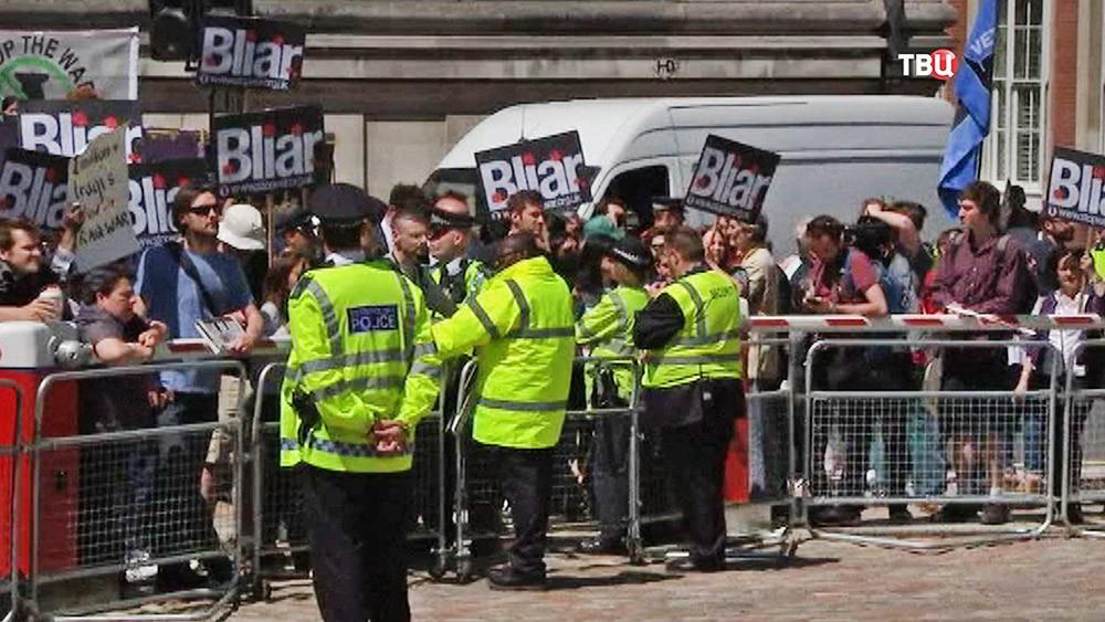 Митингующие в Лондоне требуют наказать Тони Блэра за войну в Ираке