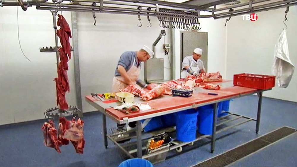 Мясокомбинат в Европе
