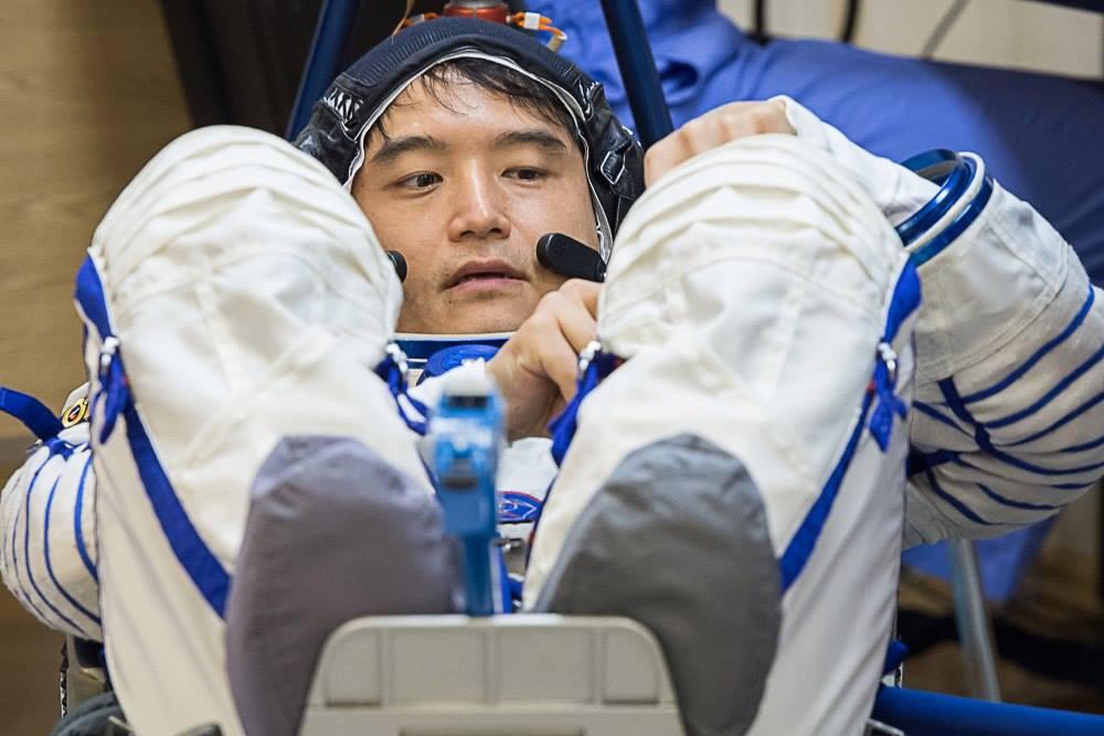 Японский астронавт Ониши Такуя