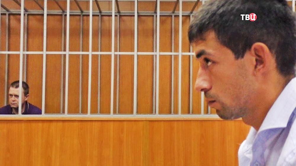 Отец пострадавшего ребенка и ульяновский коллектор-поджигатель Дмитрий Ермило