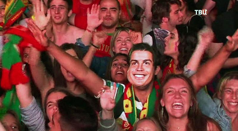 Болельщики сборной Португалии
