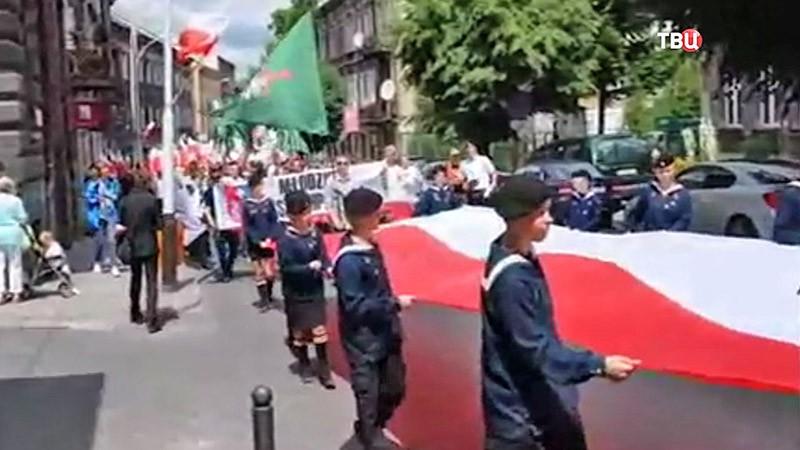 Поляки отмечают 73-ю годовщину трагических событий