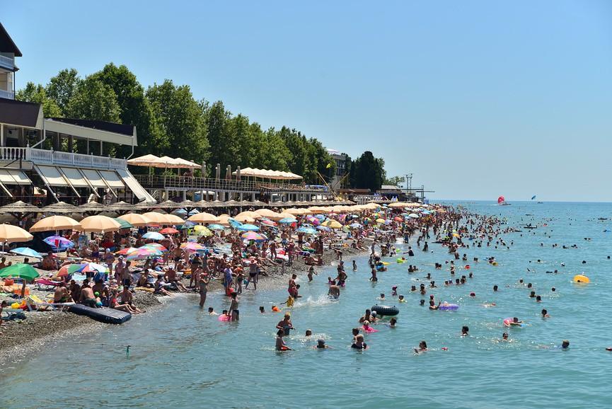 лазаревское фото пляжа и города