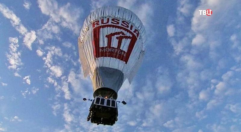 Федор Конюхов на воздушном шаре