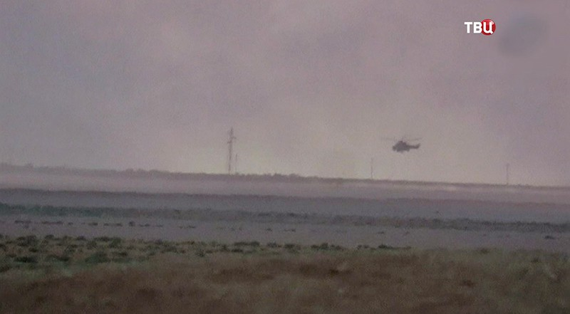 Падения вертолета в Сирии