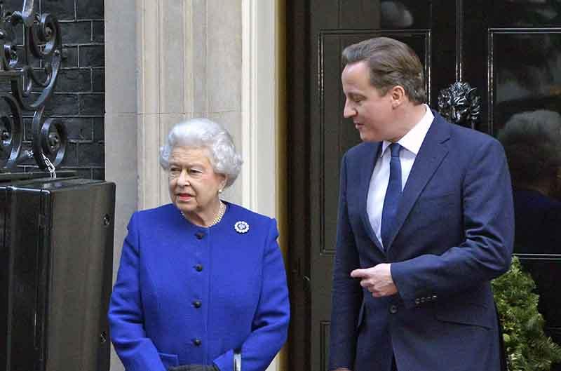 Елизавета II и Дэвид Кэмерон