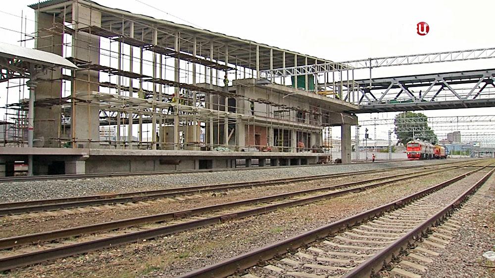 Строительство станции в черте промзоны ЗИЛ