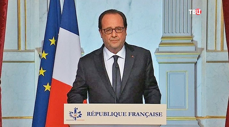 Президент Франции Франсуа Оланд