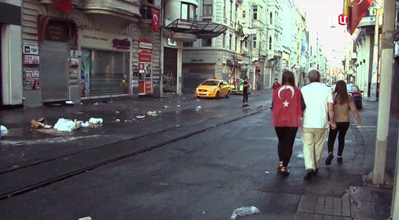 Последствия акции протеста в Турции
